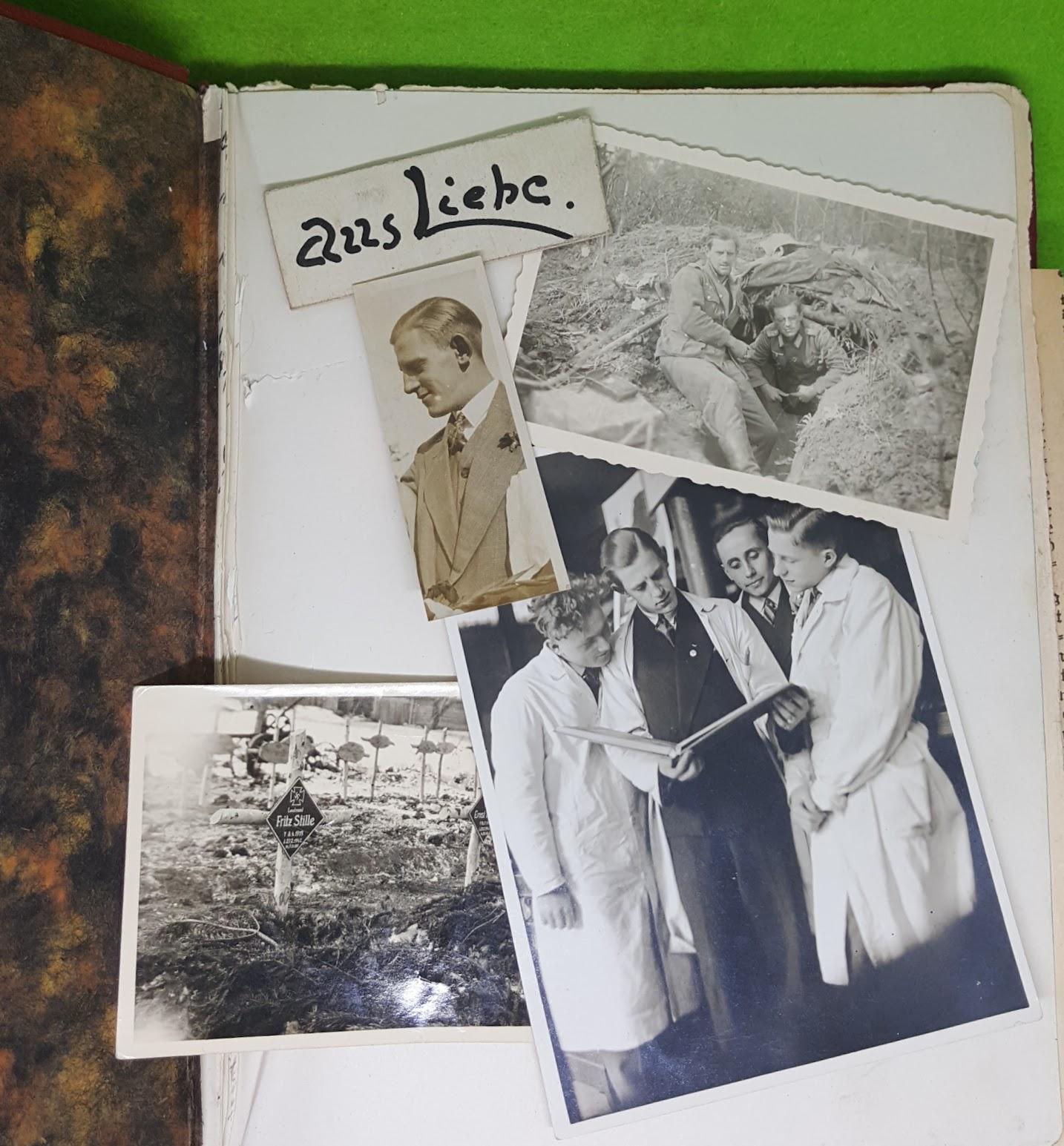 Tagebuch Omi - Kriegsfotos