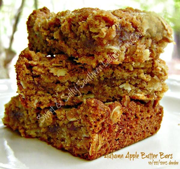 Autumn Apple Butter Bars Recipe