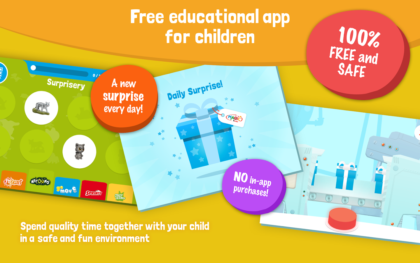 Magic kinder free kids games android apps on google play - Kinderapps gratis ...