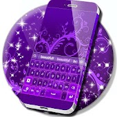 Deep Purple For GO Keyboard