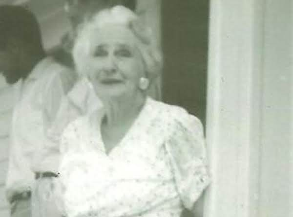 This Is Nettie Barlow.  She Is Betty's Mother.  She Raised Her Family Mostly Alone.  Working And Cooking For Her Family.