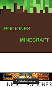 Guide minecraft potions - náhled