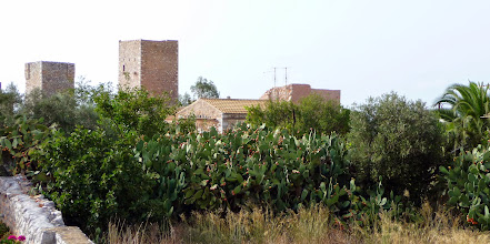 Photo: The towers of Mani in Charia