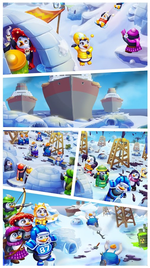 Penguin Pals: Arctic Rescue- screenshot