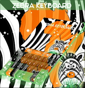 Klávesnice Zebra - náhled