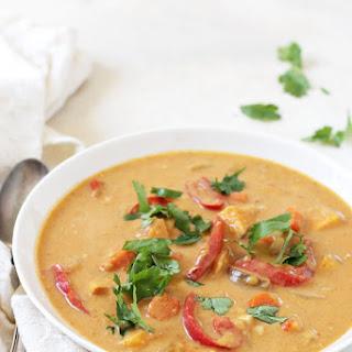 Slow Cooker Thai Sweet Potato Soup.
