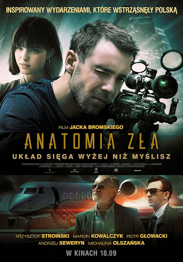 Polski plakat filmu 'Anatomia Zła'