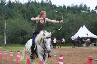 Photo: Training am Mittwoch - Katie (USA)