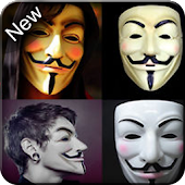 Anonymous Mask Photo Editor Free