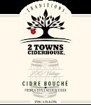 2 Towns Ciderhouse - Cidre Bouché