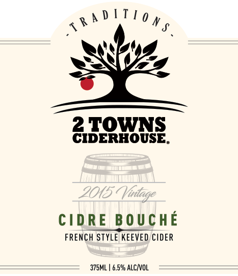 Logo of 2 Towns Ciderhouse - Cidre Bouché