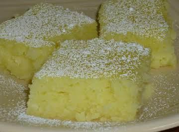 Two Ingredient Lemon Bars......