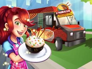 Chinese California Truck - Fast Food Cooking Game screenshot thumbnail