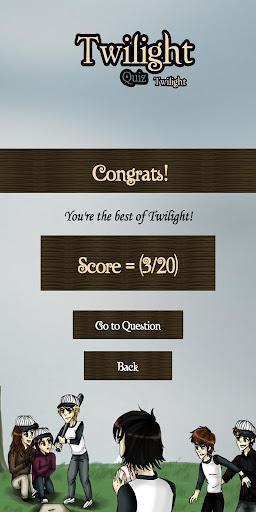 Twilight Series Quiz screenshots 6