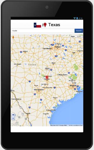 Texas map  screenshots 1