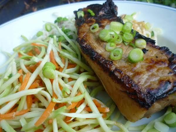 Ginger-garlic Steak