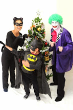 Photo: 2010 -- Our son started to watch Batman cartoons from America. We decided to be Catwoman & Joker because Mayumi & I were too tall (old?) to be Batgirl & Robin.
