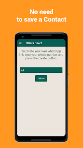 WhatsDirect – Direct Chat Without Saving Contact 2