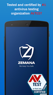 Zemana Antivirus & Security - náhled