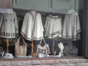 Photo: There was one town in the middle of nowhere with some beautiful shops. We have to go back.