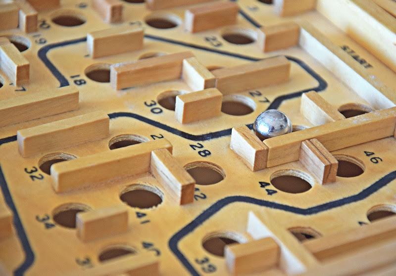 Labirinto meccanico anni 80 di Luciano Fontebasso