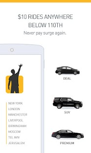 Gett (GetTaxi) - The Taxi App- screenshot thumbnail