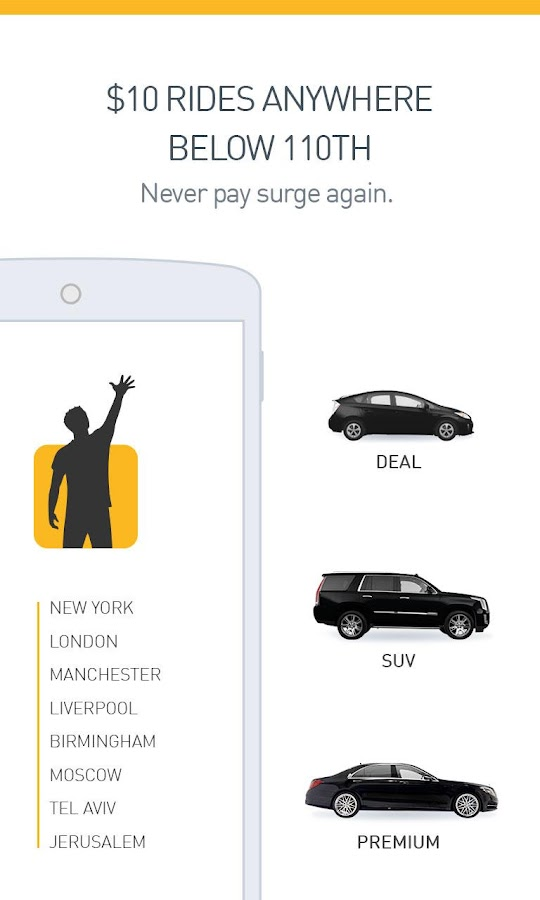 Gett (GetTaxi) - The Taxi App- screenshot
