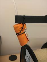 Photo: Worlds fanciest filament cleaner. 1x Swag lens cloth 1x Long twist-tie