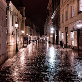 by Alena Ajaja Koutná - City,  Street & Park  Night