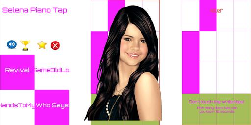 Selena Gomez Piano Tiles
