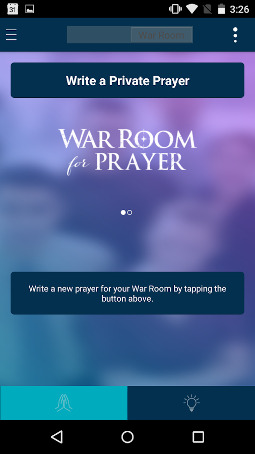 War Room for Prayer- screenshot