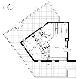 Appartement 5 pièces 106,01 m2