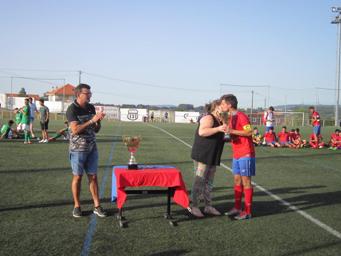 ADR Numancia de Ares. Aficionados 2017-2018. Tercer Trofeo Fiestas de San Roque 2017. Prados Vellos. Numancia, 0 - Galicia de Mugardos, 4