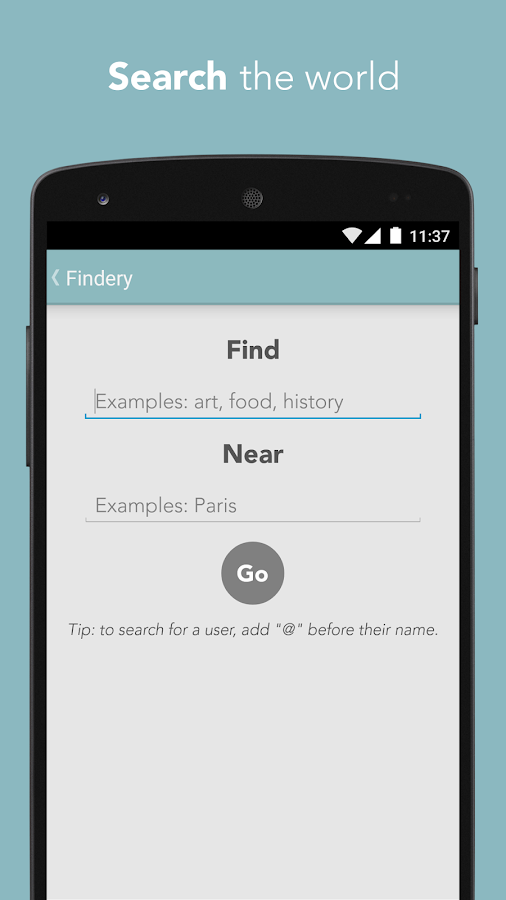 Findery - Local Tips & Travel – Capture d'écran