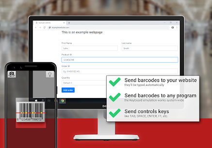 Barcode to PC: Wi-Fi scanner 3.10.0 MOD + APK + DATA Download 3