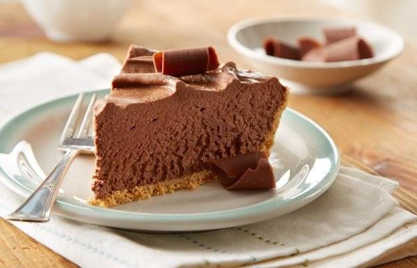 Decadent No Bake Chocolate Fudge Cheesecake (easy) Recipe