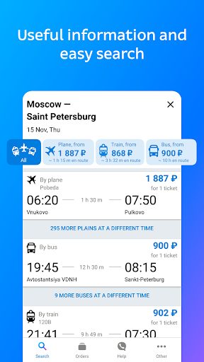 Tutu.ru - flights, Russian railway and bus tickets 3.2.2 gameplay | AndroidFC 2