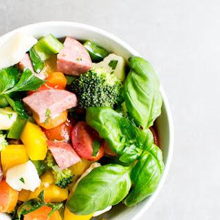 Summer Sausage and Vegetable Salad Recipe