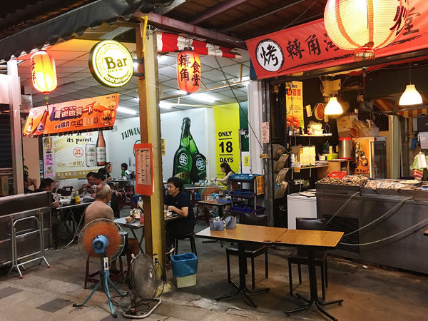 松山區.小吃|台北吃宵夜的好去處,劉媽媽涼麵市民大道旁-轉角食堂