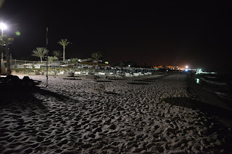 Photo: Nachts am Strand  von Port EL Kantaoui