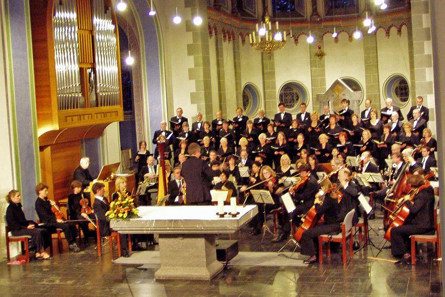 Photo: Chor- und Orchsterkonzert (Fauré, Mendelssohn-Bartholdy) Kirche St. Jakob, Aachen /13.09.2008