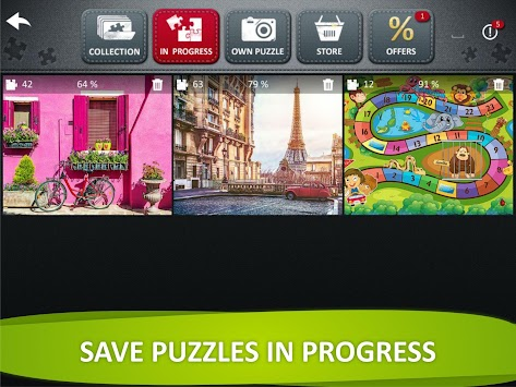 Jigsaw Puzzle Collection HD - free puzzle games apk screenshot