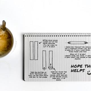 HOW TO MAKE CRUFFIN WITH PASTA MACHINE.