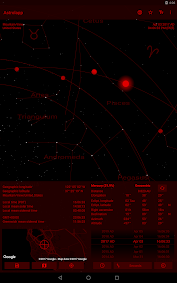 Astrolapp Planets and Sky Map Aplikace pro Android screenshot