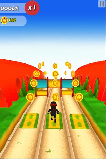 3D Kid Hero Run escape Monster