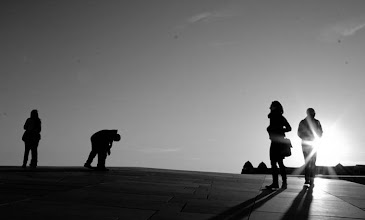 Photo: Day 250 / June 18, 2012 From the roof of Oslo Opera House  オペラハウスの屋根の上から  #creative366project