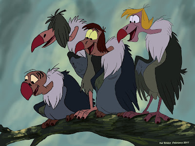 vultures by valerie breen