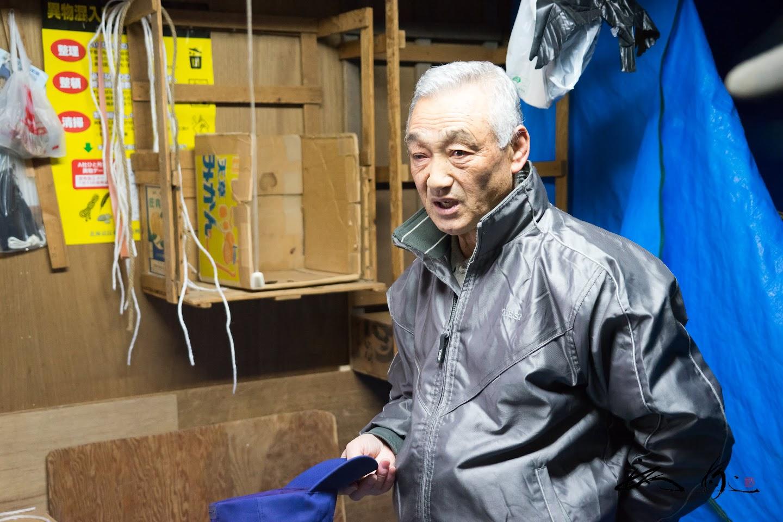 泉誠さん(元えりも漁業協同組合理事・北海道指導漁業士)