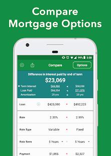 Canadian Mortgage App - náhled
