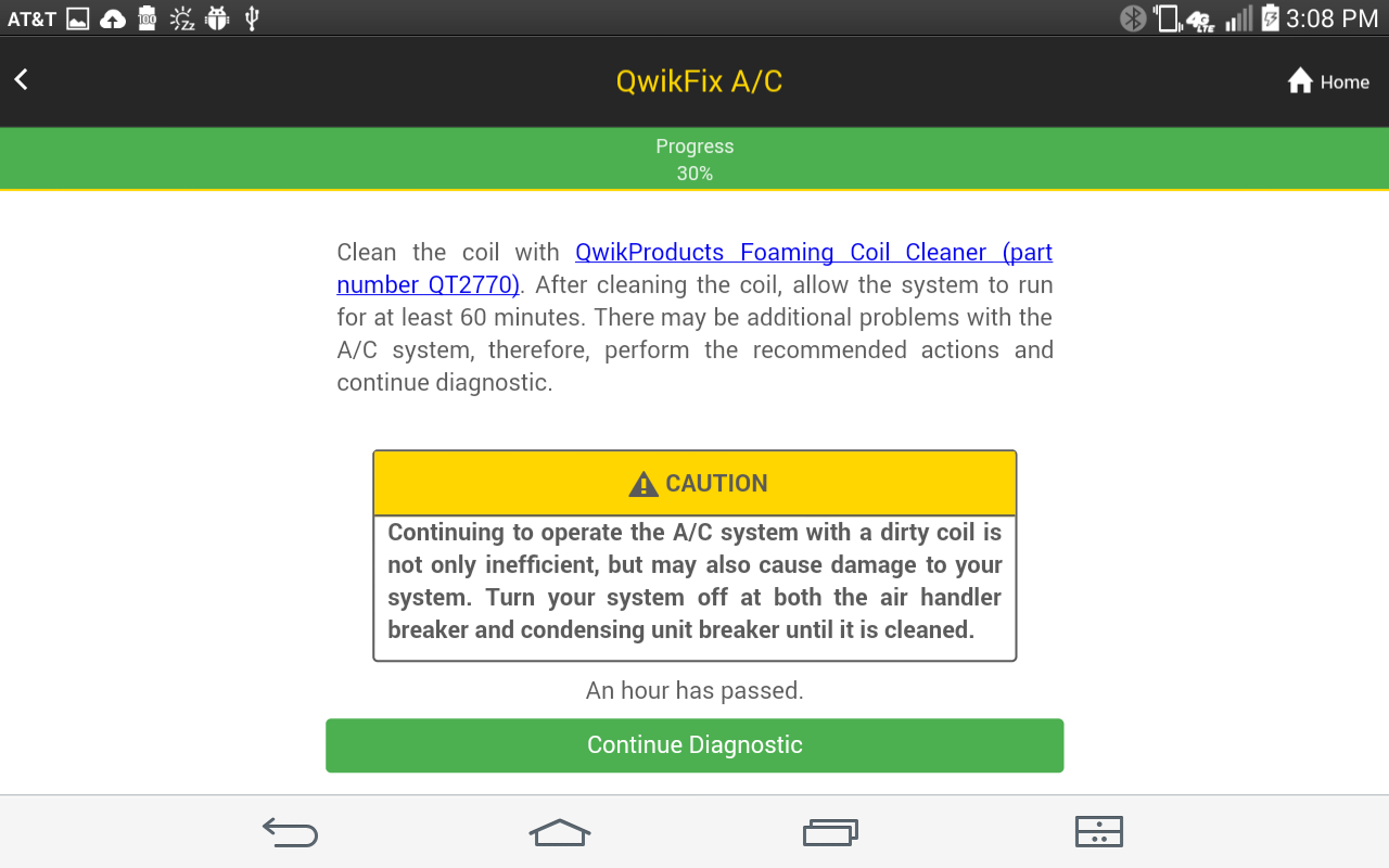 QwikFix A/C- screenshot